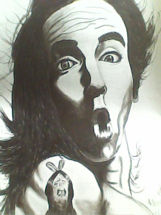 Anthony Kiedis par keiilapeppers
